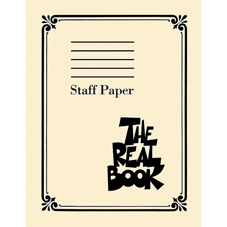 Hal Leonard The Real Book - Staff Paper