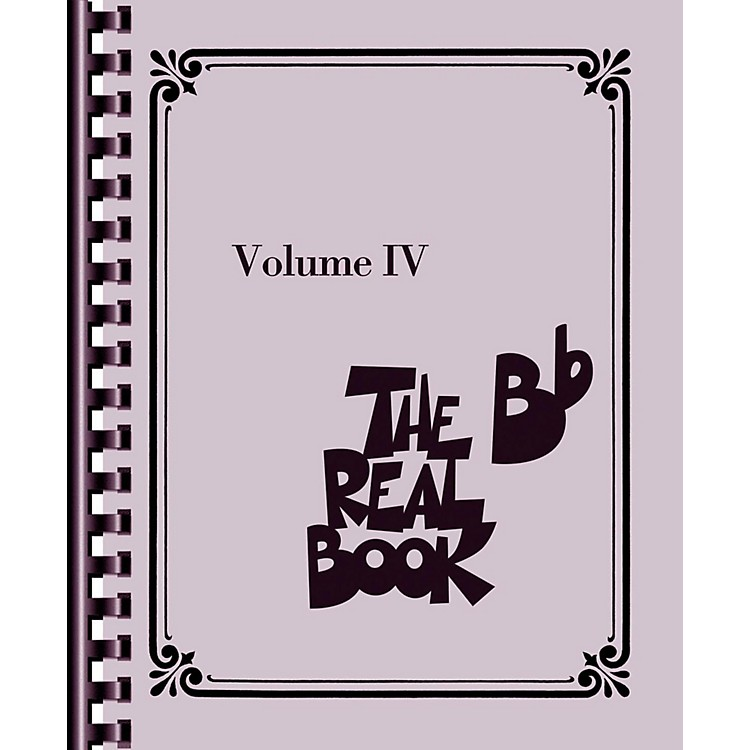 Hal LeonardThe Real Book - Volume 4 (B Flat Edition)
