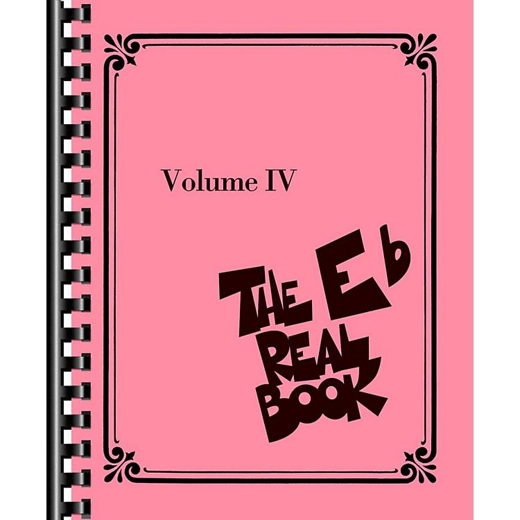 Hal LeonardThe Real Book - Volume 4 (E Flat Edition)
