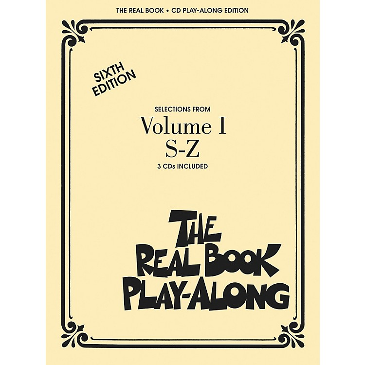 Hal Leonard The Real Book Play-Along (3-CD Set) S thru Z