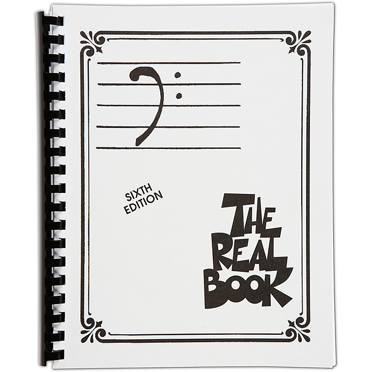 Hal LeonardThe Real Book Volume 1 - C EditionBass Clef Edition