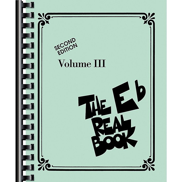 Hal Leonard The Real Book Volume 3 E Flat Edition