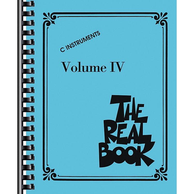 Hal LeonardThe Real Book Volume 4 (C Edition) - Fake Book