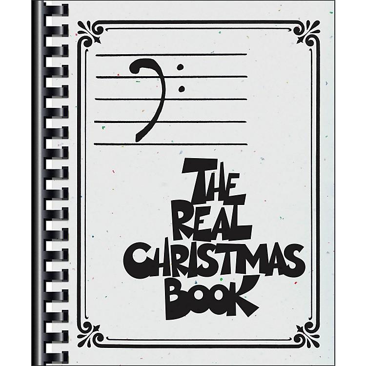 Hal LeonardThe Real Christmas Book - Bass Clef Edition
