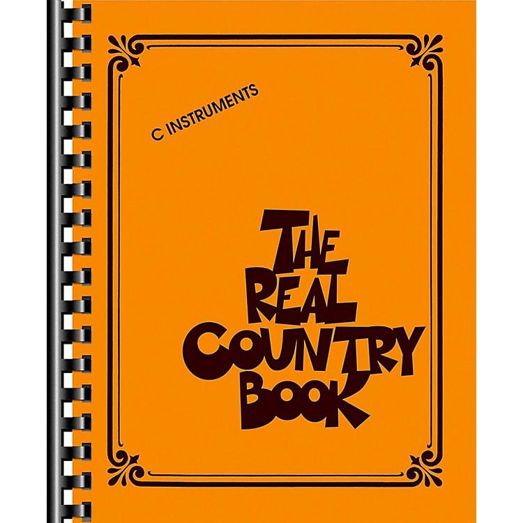Hal LeonardThe Real Country Book - C Edition