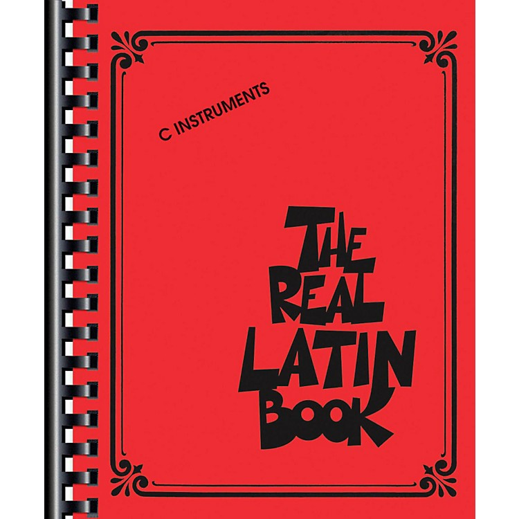 Hal LeonardThe Real Latin Book - C Edition