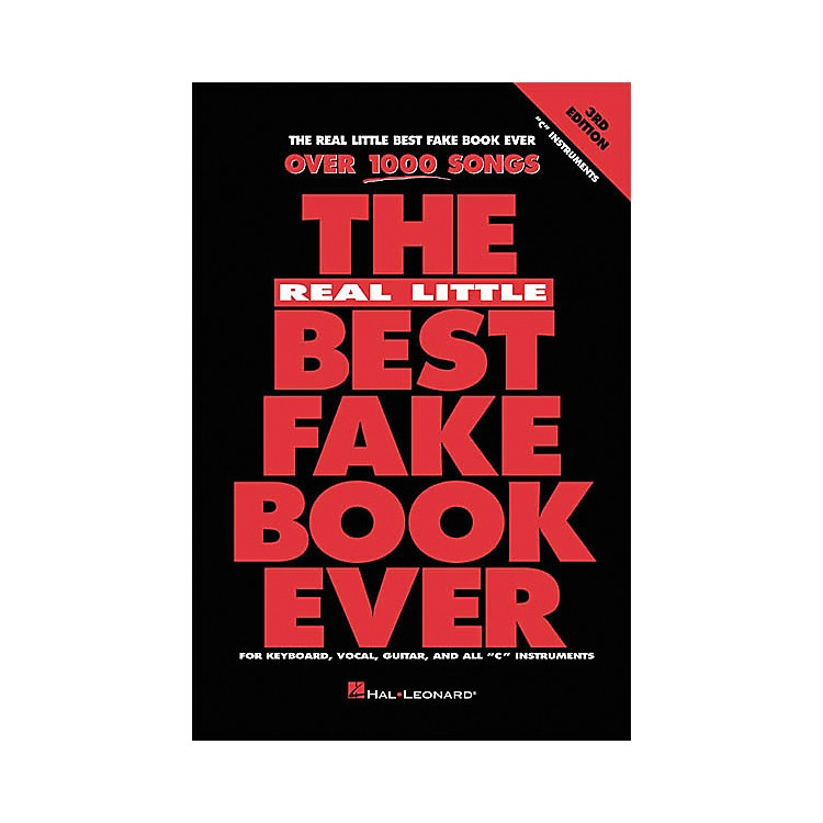 Hal LeonardThe Real Little Best Fake Book Ever 3rd Edition in C