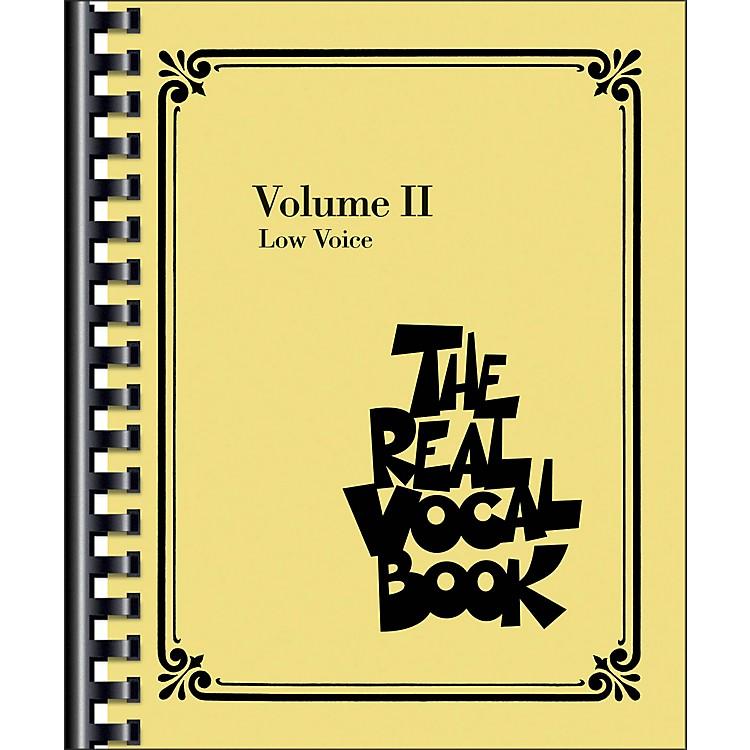 Hal LeonardThe Real Vocal Book Volume 2 Low Voice