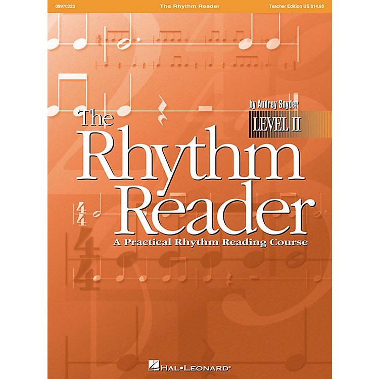 Hal LeonardThe Rhythm Reader II - A Practical Rhythm Reading Course Accompaniment CD