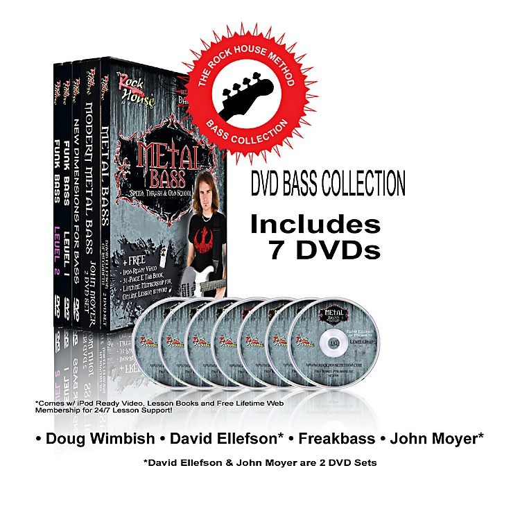 Rock House The Rock House Method - Bass DVD Collection