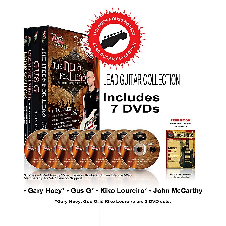 Rock House The Rock House Method - Lead Guitar DVD Collection