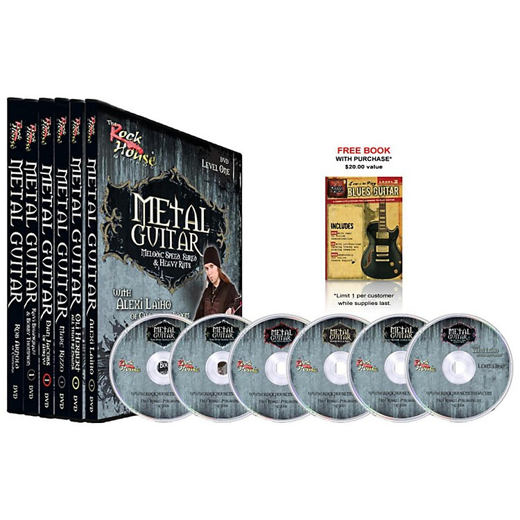 Rock House The Rock House Method - Metal Guitar DVD Collection