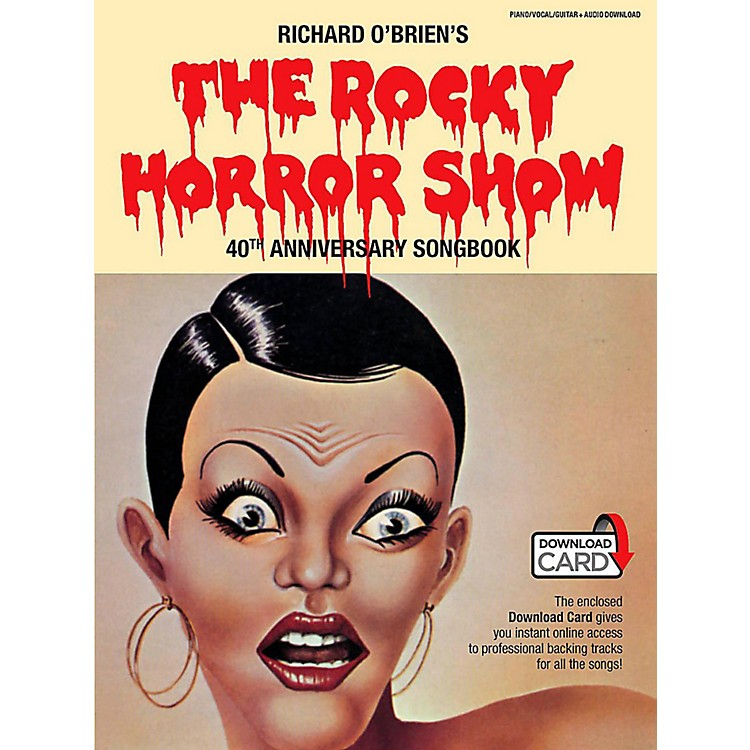 Music SalesThe Rocky Horror Picture Show - 40th Anniversary Piano/Vocal Selections Book/Online Audio