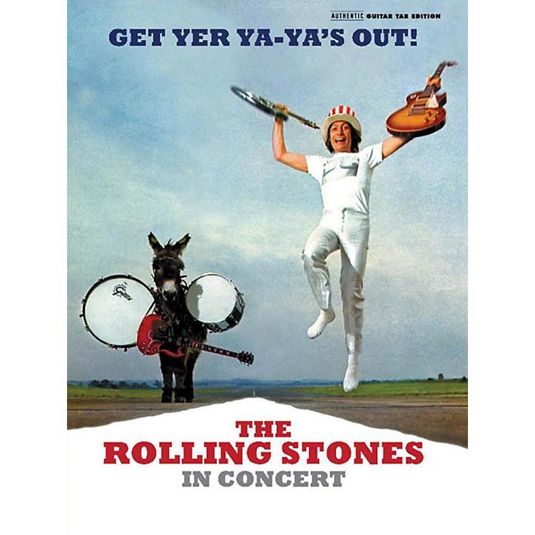 AlfredThe Rolling Stones - Get Yer Ya-Ya's Out! Guitar TAB Book