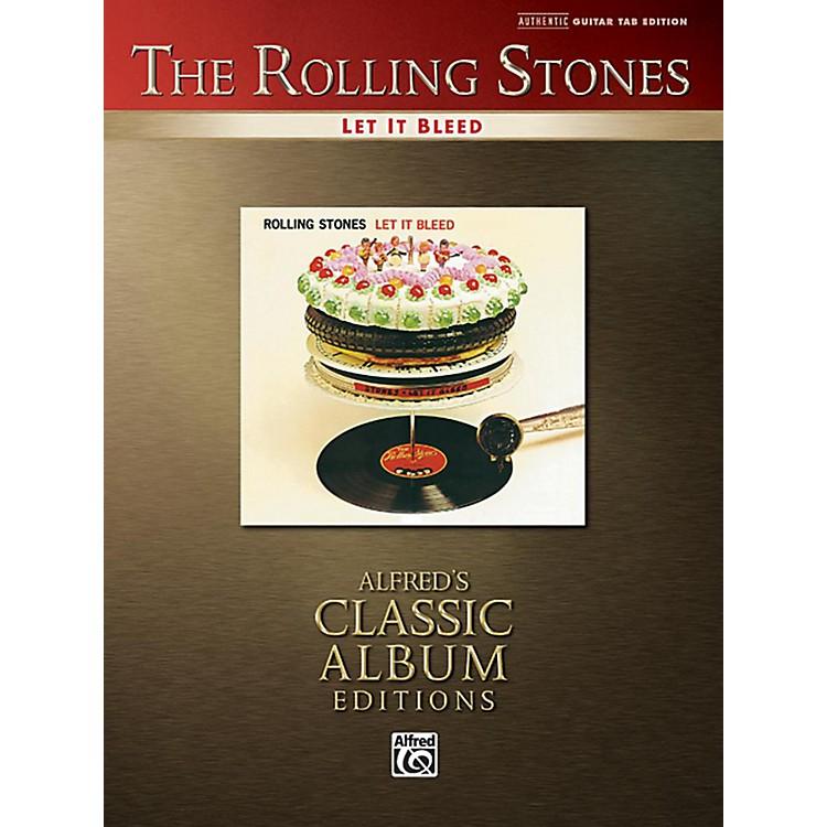 AlfredThe Rolling Stones - Let It Bleed Guitar TAB Book