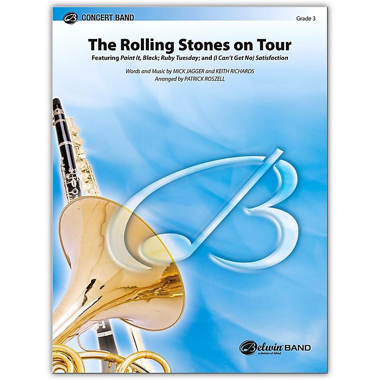 AlfredThe Rolling Stones on Tour Concert Band Grade 3 Set