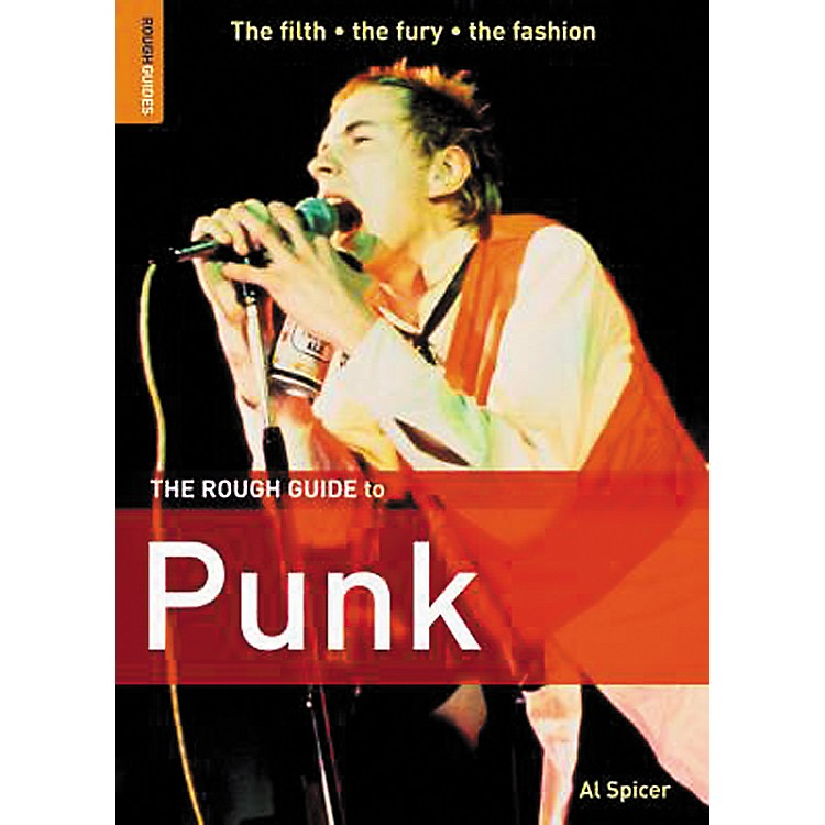 Penguin Books The Rough Guide To Punk Book