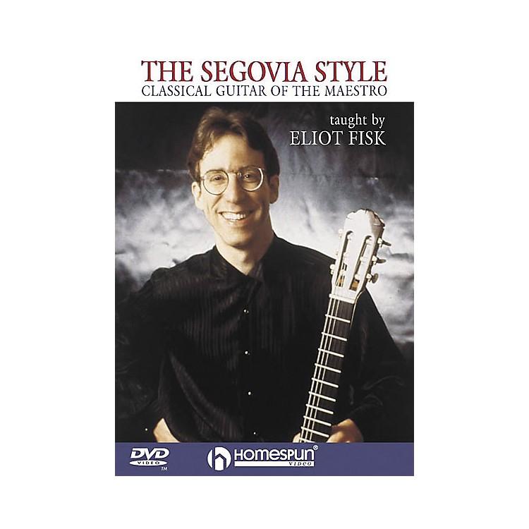 HomespunThe Segovia Style (DVD)