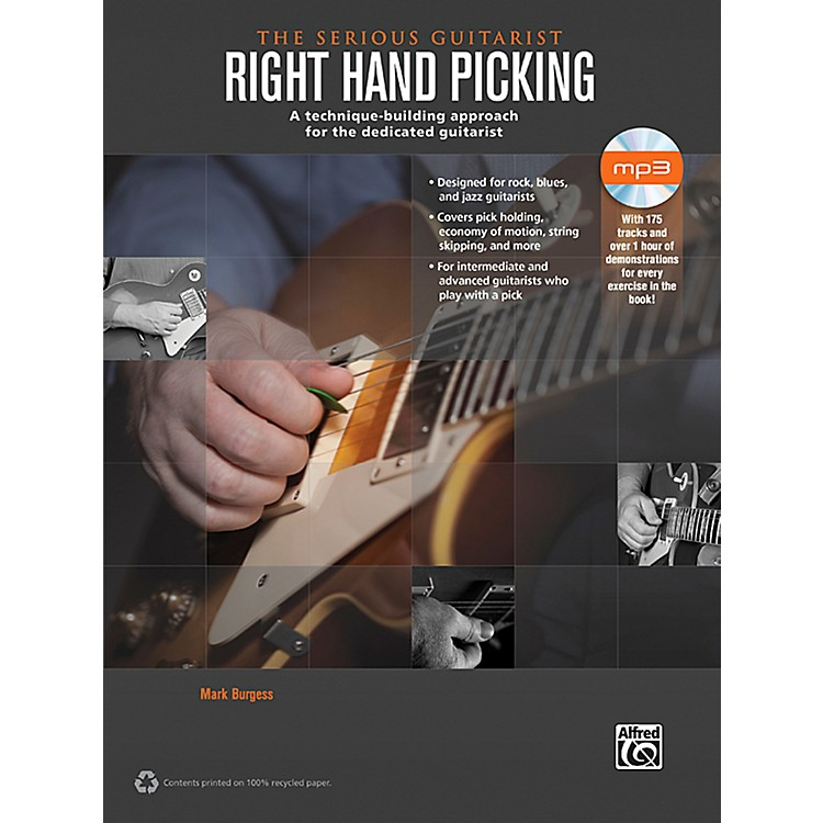 AlfredThe Serious Guitarist: Right Hand Picking Book & CD