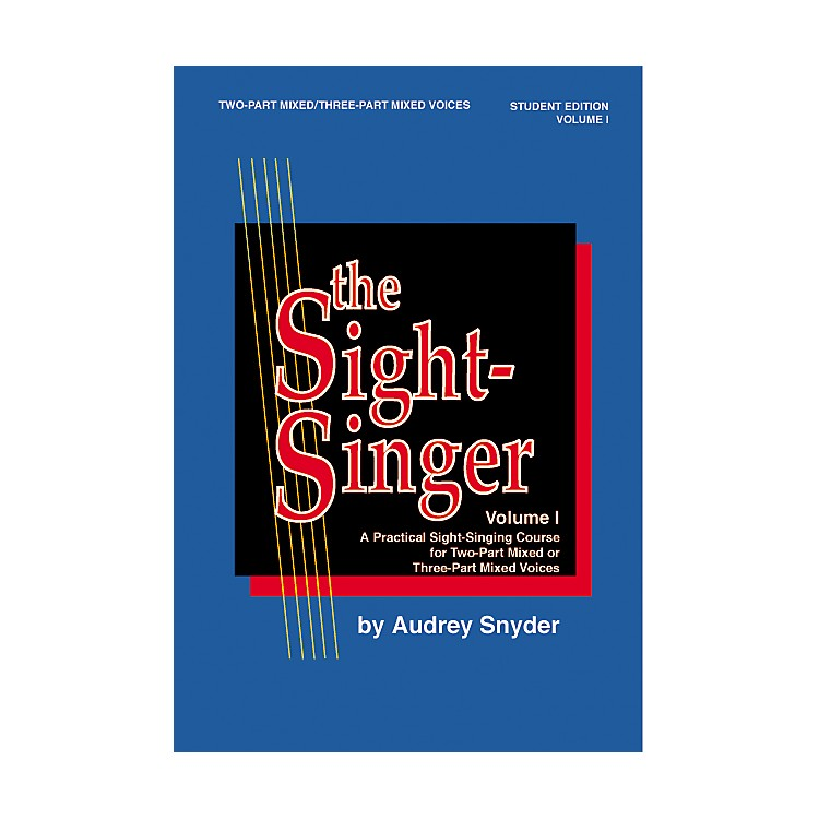 AlfredThe Sight Singer Mixed Volume 1 Student Edition