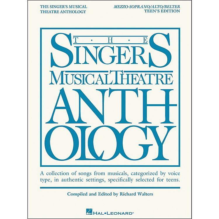 Hal LeonardThe Singer's Musical Theatre Anthology Teen's Edition Mezzo-Soprano/Alto/Belter