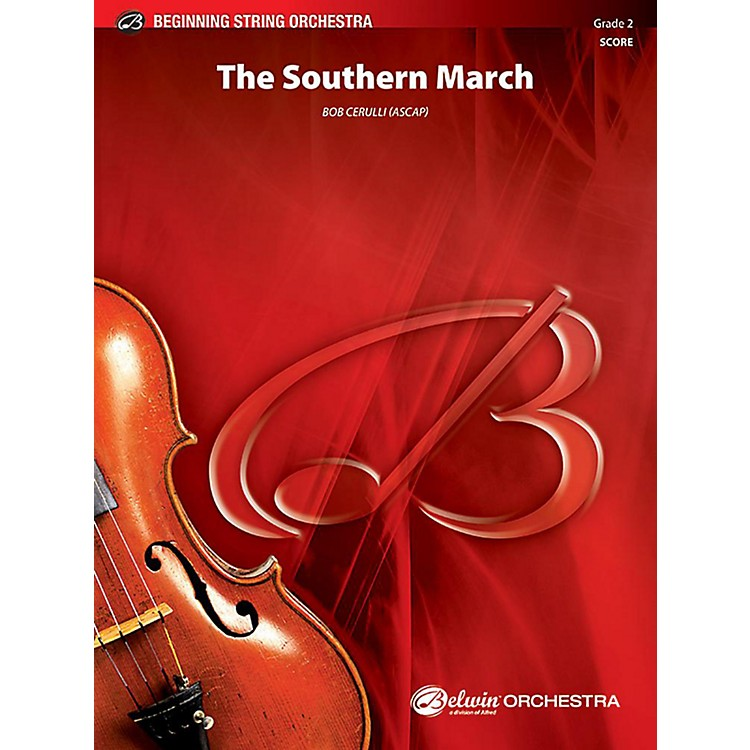 AlfredThe Southern MarchString Orchestra Grade 2 Set