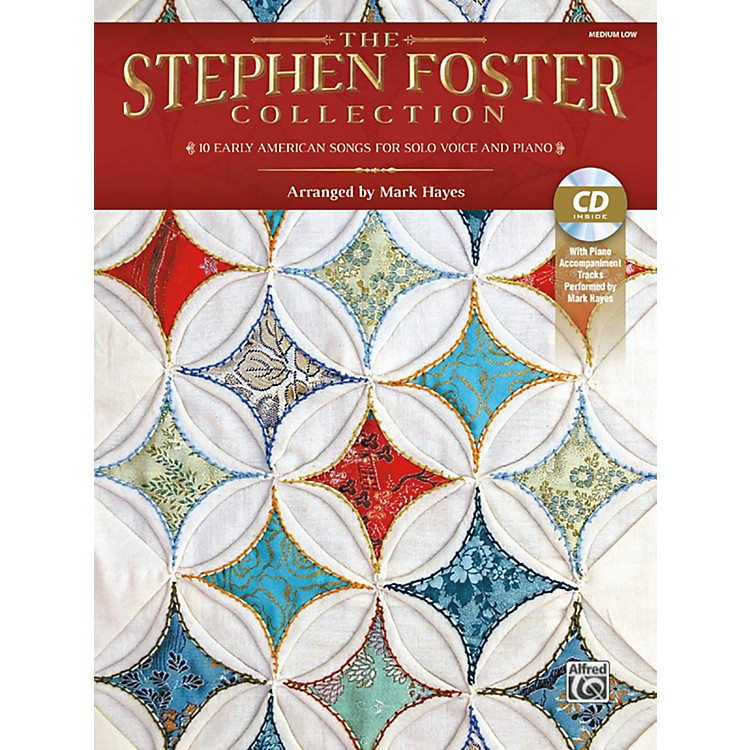 AlfredThe Stephen Foster Collection Book & Acc CD Medium Low