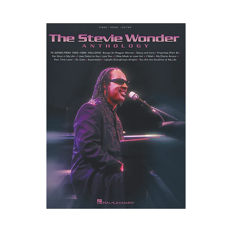 Hal LeonardThe Stevie Wonder Anthology Piano, Vocal, Guitar Songbook