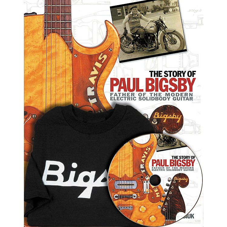 Hal LeonardThe Story Of Paul Bigsby Book/CD And T-Shirt Package
