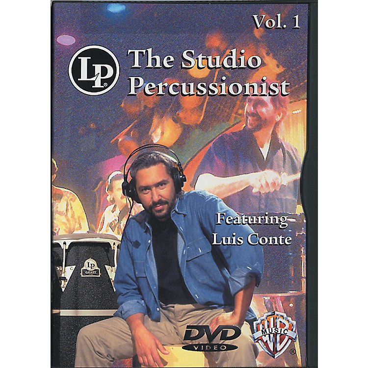 LP The Studio Percussionist Vol. 1 featuring Luis Conté DVD