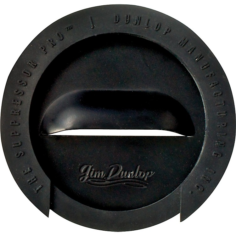 Dunlop The Suppressor Pro Sound Hole Cover 1-Hole Gold&nb