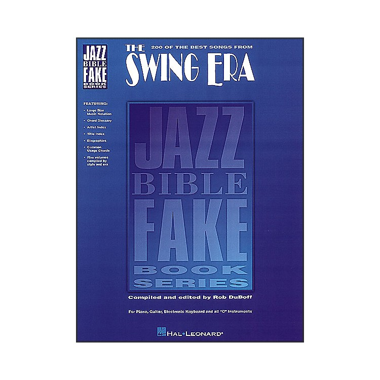 Hal Leonard The Swing Era - Jazz Bible Series