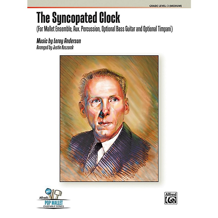 AlfredThe Syncopated Clock Percussion Ensemble Score & Parts