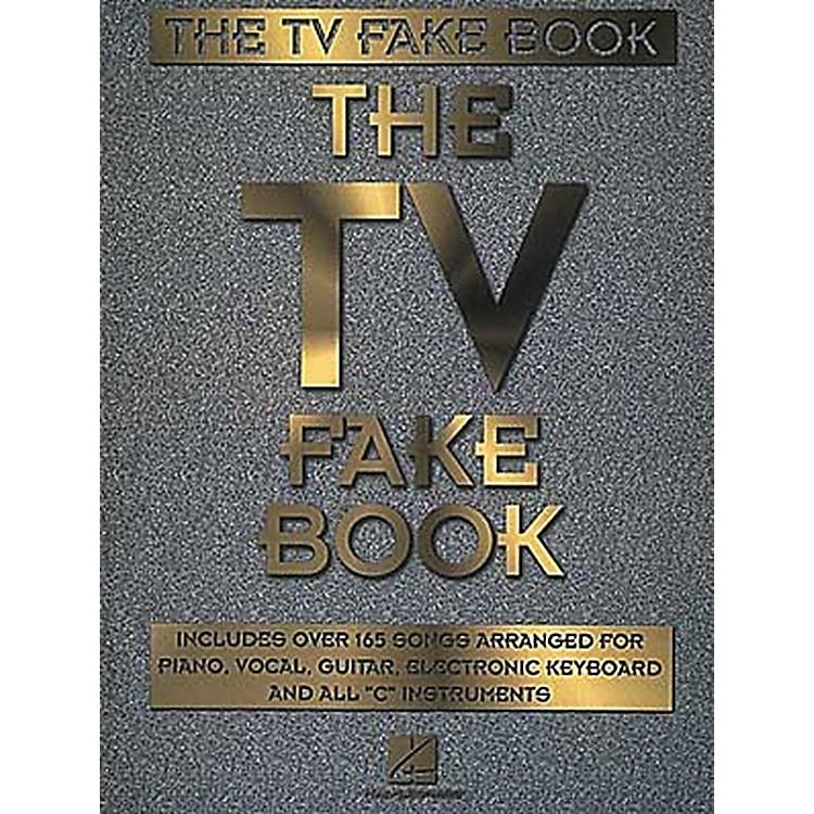 Hal LeonardThe TV Fake Book Piano/Vocal/Guitar Songbook