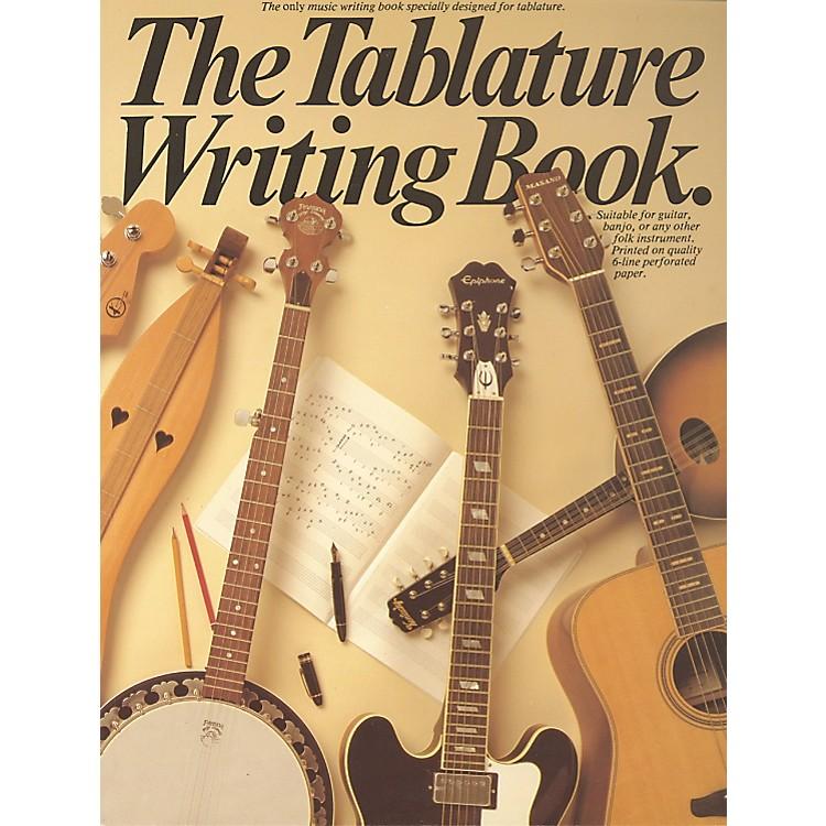 Music SalesThe Tablature Writing Book