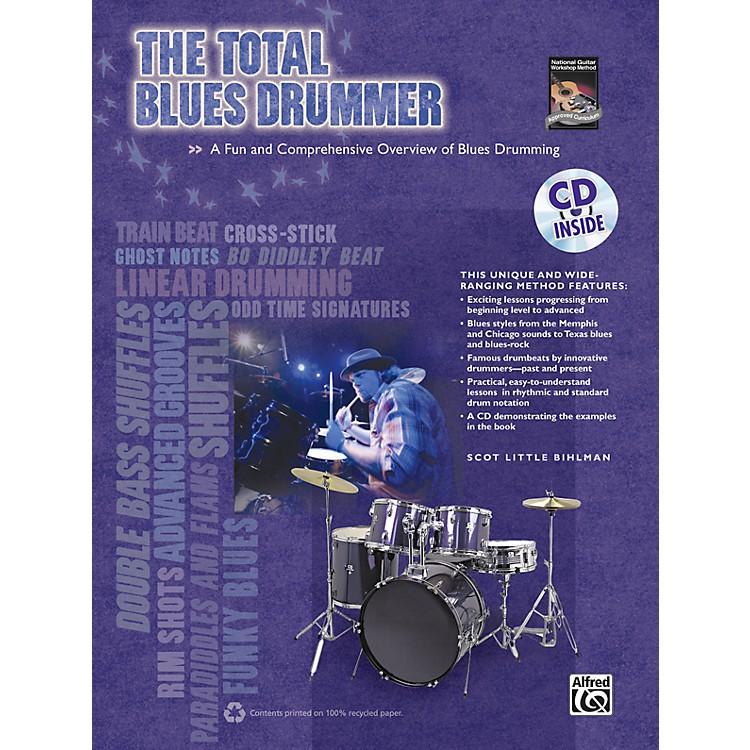 AlfredThe Total Blues Drummer  Book/CD