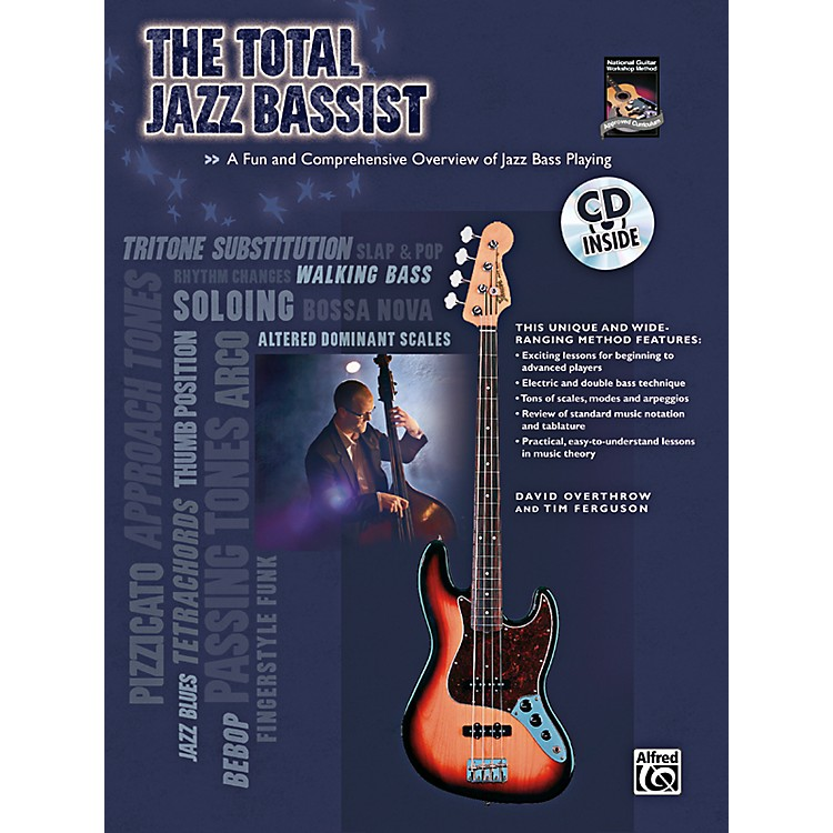 AlfredThe Total Jazz Bassist Book & CD