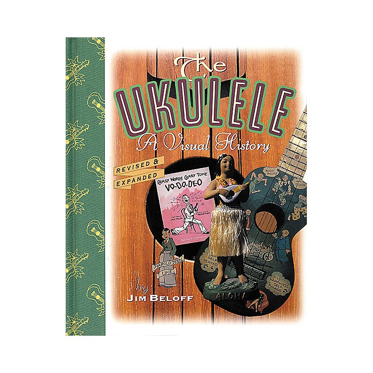 Backbeat Books The Ukulele - 2nd Edition Visual History Book