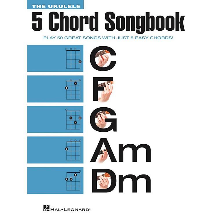 Hal LeonardThe Ukulele 5 Chord Songbook (C-F-G-Am-Dm)