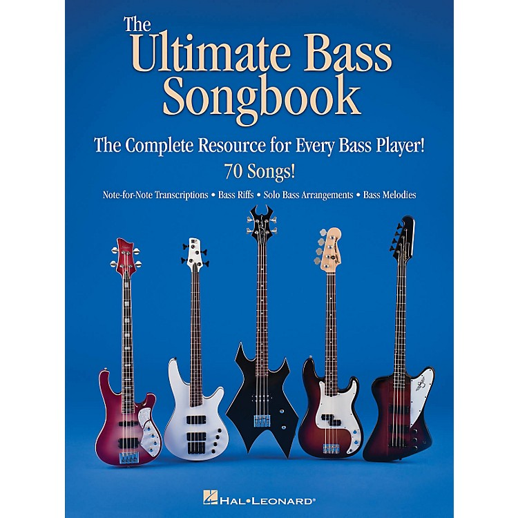 Hal LeonardThe Ultimate Bass Songbook - The Complete Resource For Every Bass Player