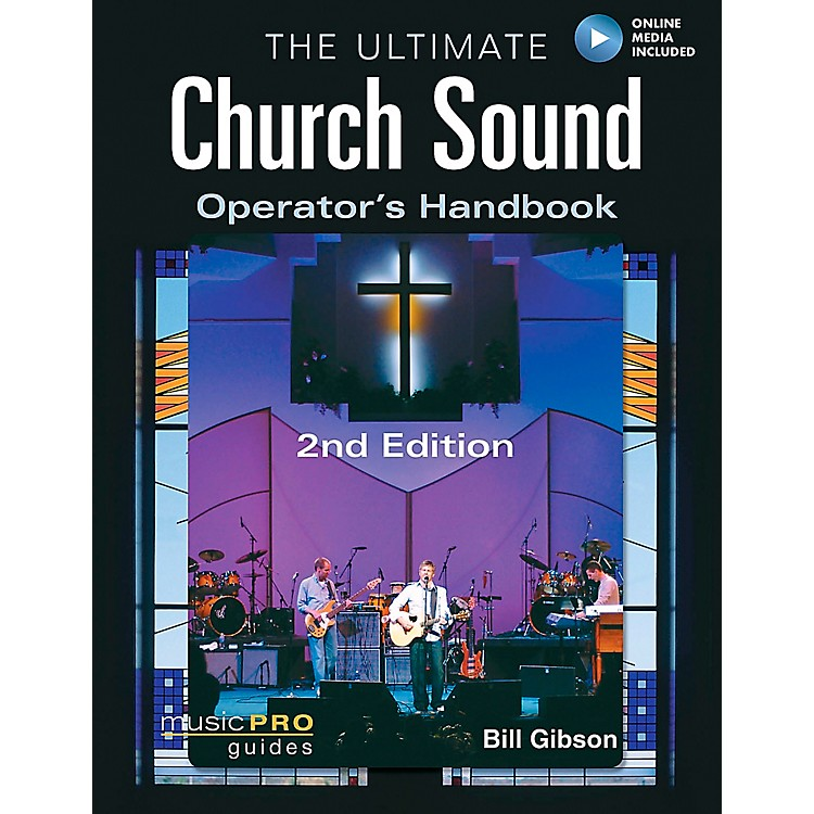 Hal LeonardThe Ultimate Church Sound Operator's Handbook Book/DVD-ROM