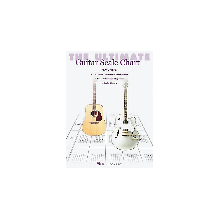 Hal Leonard The Ultimate Guitar Scale Chart Book