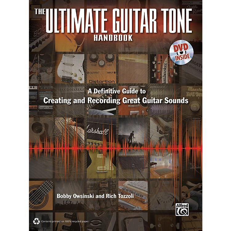 Alfred The Ultimate Guitar Tone Handbook Book/DVD