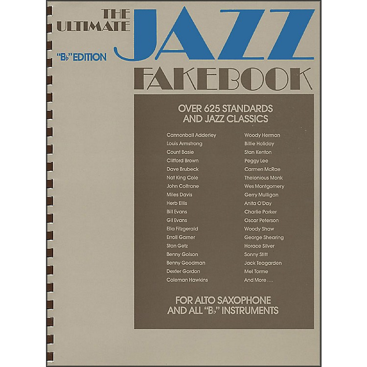 Hal LeonardThe Ultimate Jazz Fake Book, The B Flat Edition