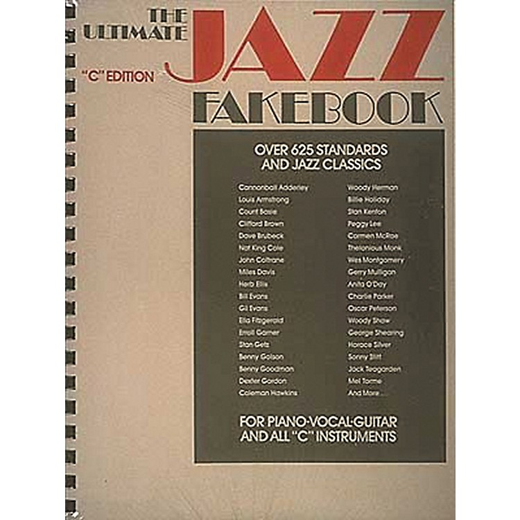 Hal LeonardThe Ultimate Jazz Fake Book for Piano, Guitar, and Vocals