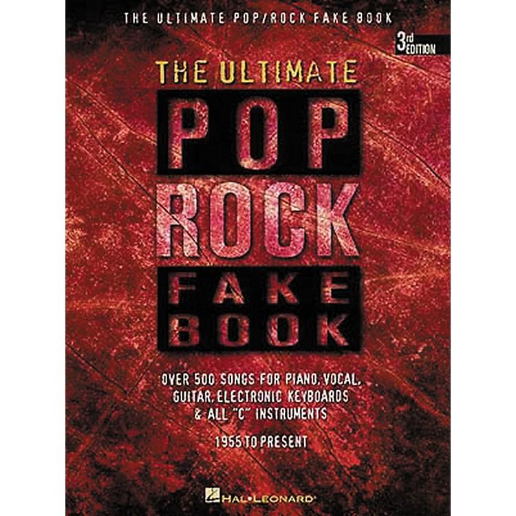 Hal LeonardThe Ultimate Pop Rock Fake Book