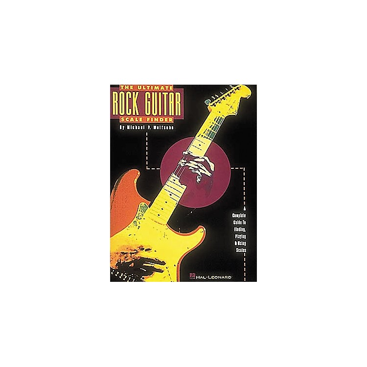 Hal Leonard The Ultimate Rock Guitar Scale Finder Book