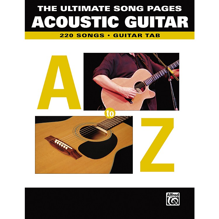 AlfredThe Ultimate Song Pages Acoustic Guitar A to Z