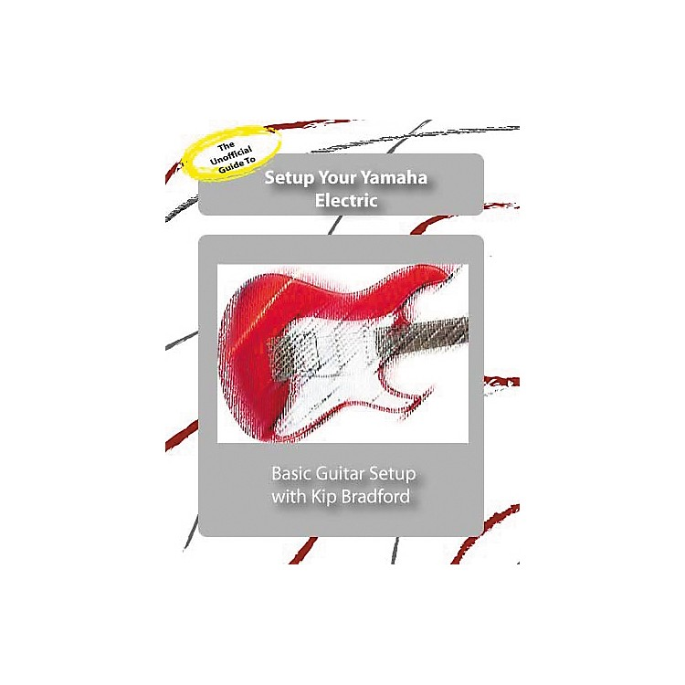 Great Nutshell ProductionsThe Unauthorized Guide to Setup Your Yamaha Electric Guitar (DVD)