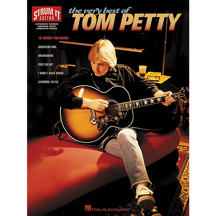 Hal Leonard The Very Best Of Tom Petty Guitar Tab Songbook